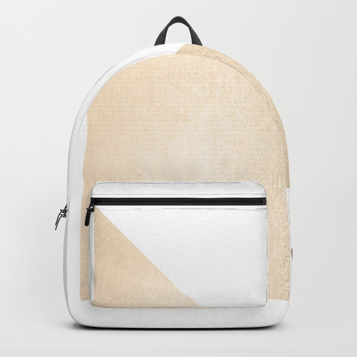 Simply Shadow in White Gold Sands Backpack