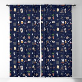 Harry Pattern Night Blackout Curtain