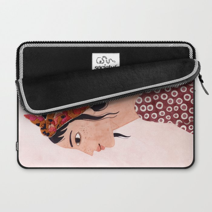 Embroidered scarf Laptop Sleeve
