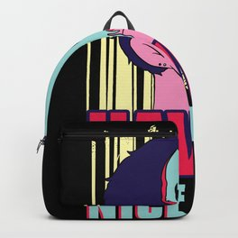 Have A Nice Travel Sarcastic Mask Backpack