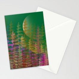 Under Moonlight Stationery Cards