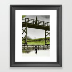 Ghost from the past Framed Art Print