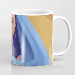 The Veiled Woman Coffee Mug