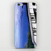 philippines iPhone & iPod Skins featuring OFF LIMIT (Philippines) by Julie Maxwell