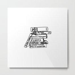 Favorite Books Metal Print