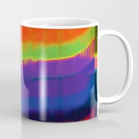 glitch Mugs featuring Glitch by Simon Langlois