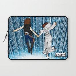 The Captain and the Princess Laptop Sleeve