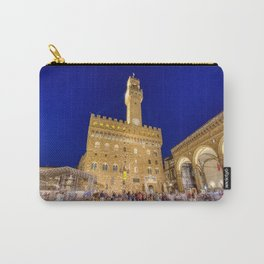 View of the Palazzo Vecchio Carry-All Pouch