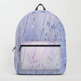 Winter Sparkle On A Sunny Frosty Day #decor #buyart #society6 Backpack