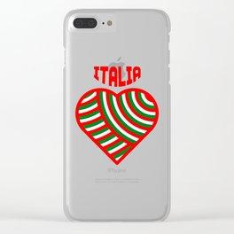 amo l'italia Clear iPhone Case