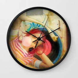 Bubblegum Pop Wall Clock