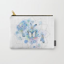 Dreamcatcher No. 1 - Butterfly Illustration Carry-All Pouch