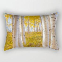Aspens In Autumn, Utah Rectangular Pillow