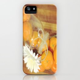 Clementines From Above iPhone Case