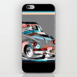 beetle retro car iPhone Skin