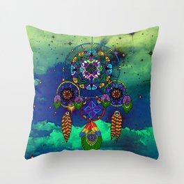 Dream Catching Throw Pillow