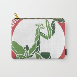 Praying Mantis Style Carry-All Pouch