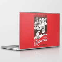 casablanca Laptop & iPad Skins featuring Rubacava by Hoborobo