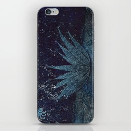 Lotus and the Spider iPhone Skin