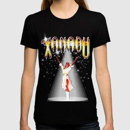 Olivia Newton-John - Xanadu movie 80s  by retropopdisco T-shirt