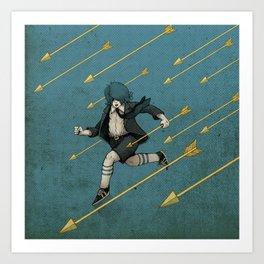 Run. Art Print