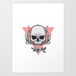 Skull 3 Art Print