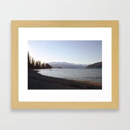 LakeWanaka001 Framed Art Print
