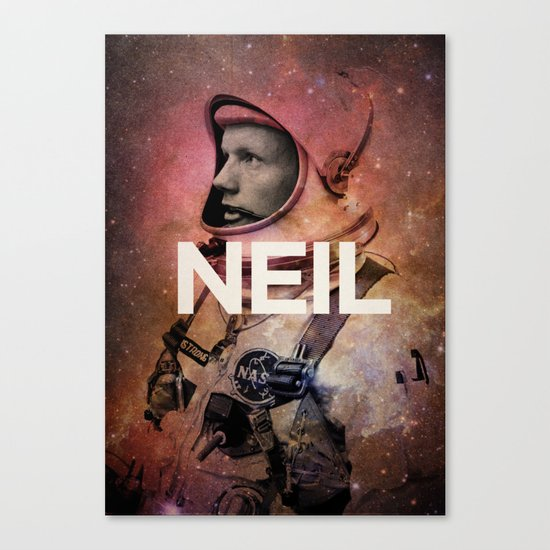 Neil. Canvas Print