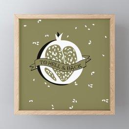 Persephone's Ink - Fall Equinox Framed Mini Art Print