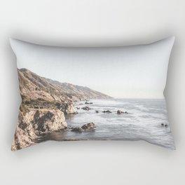 Big Sur   Monterey California Surfers Paradise Ocean Beach Landscape Wanderlust Photograph Rectangular Pillow