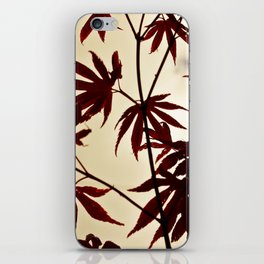 Red Hands  iPhone Skin