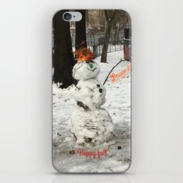 Holiday spirit iPhone Skin