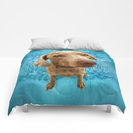 PARKER POSEY (sky) puffy cloud series Comforters
