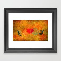Rejected Love Framed Art Print
