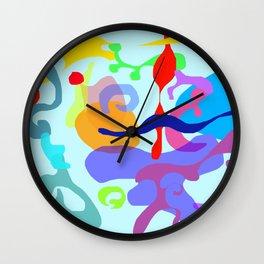 Abstract Paiting Wall Clock