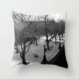 London - Queen's Walk Throw Pillow