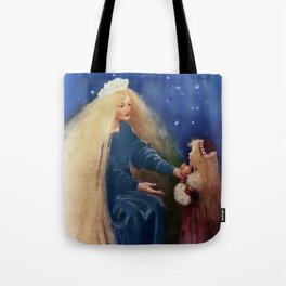 """""""Princess and the Goblin"""" by Jessie Willcox Smith Tote Bag"""