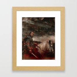 I Am - The Last Kingdom Framed Art Print
