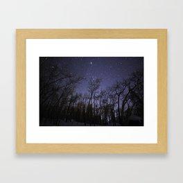 Colorado Nights Framed Art Print