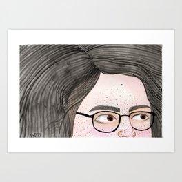 La no Colora Art Print
