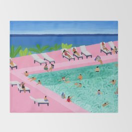 Seaview Throw Blanket