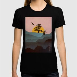 Nature Love Of A Peacful Warrior T-shirt