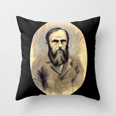 Достое́вский Throw Pillow
