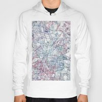 mexico Hoodies featuring Mexico map by MapMapMaps.Watercolors