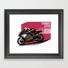 Thomas Luthi - 2007 Losail Framed Art Print