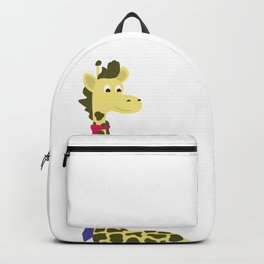 Giraffes spend a lot on ties... Backpack