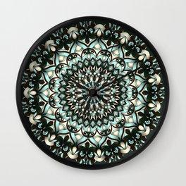 Castille Mandala Wall Clock