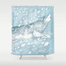 Wild Wind Shower Curtain