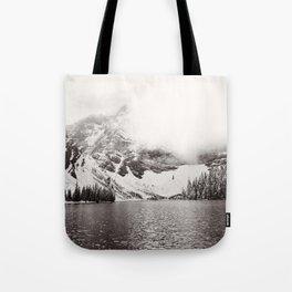 Wild Winter (B&W) Tote Bag