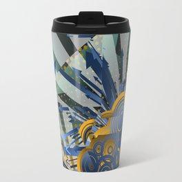 Vector Cubism Travel Mug